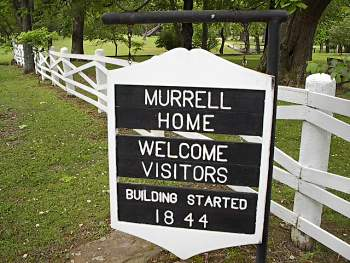 George M Murrell Historic House Park Hill OK