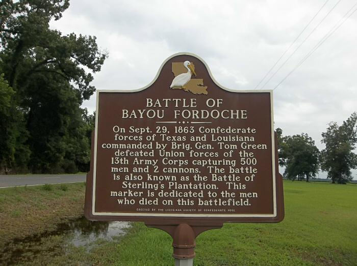 fordoche guys Battle of bayou fordoche (stirling's plantation) battle of bayou fordoche this marker is dedicated to the men that died on this battlefield.