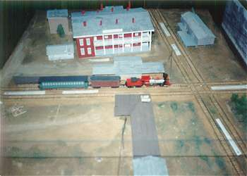 3 93 Northeast Mississippi Museum Corinth Scale Model Of The Tishomingo Hotel And Crossroads