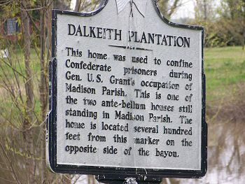 Dalkeith Plantation sign