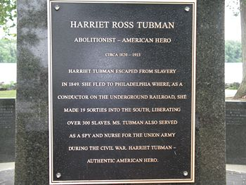 Harriet Ross Tubman Monument, Bristol, PA